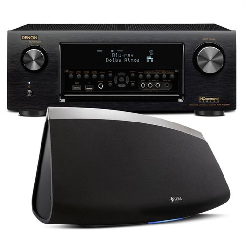 View Larger Image of AVR-X4300H 9.2 Channel Full 4K Ultra HD AV Receiver with HEOS 7 Five-Driver Wireless Speaker System - Series 2