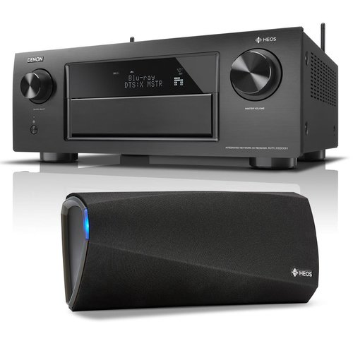 View Larger Image of AVR-X6300H 11.2 Channel Full 4K Ultra HD A/V Receiver with Bluetooth and Wi-Fi with HEOS 3 Dual-Driver Wireless Speaker System - Series 2