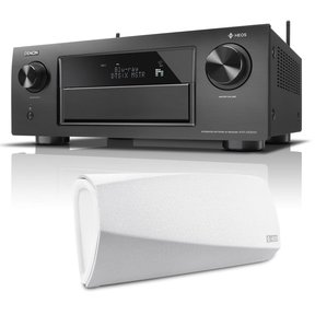 AVR-X6300H 11.2 Channel Full 4K Ultra HD A/V Receiver with Bluetooth and Wi-Fi with HEOS 3 Dual-Driver Wireless Speaker System - Series 2