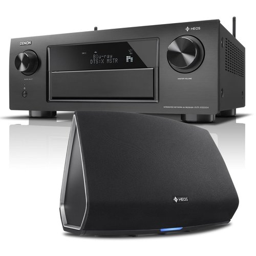 View Larger Image of AVR-X6300H 11.2 Channel Full 4K Ultra HD A/V Receiver with Bluetooth and Wi-Fi with HEOS 5 Four-Driver Wireless Speaker System - Series 2