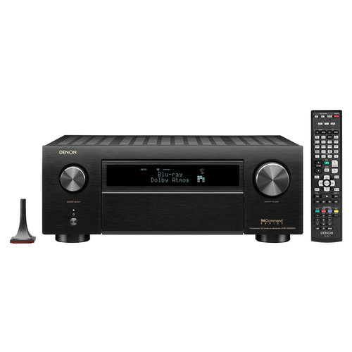 View Larger Image of AVR-X6500H 11.2-Channel 4K AV Receiver with 3D Audio and Amazon Alexa Voice Control (Factory Certified Refurbished)