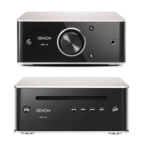 DCD-50 CD Player with PMA-50 Compact Digital Integrated Stereo Amplifier