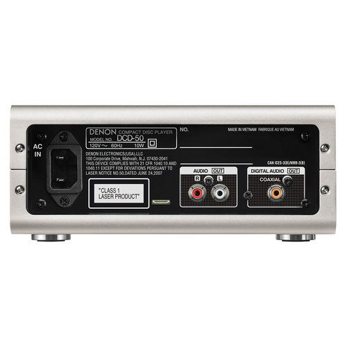 View Larger Image of DCD-50 CD Player