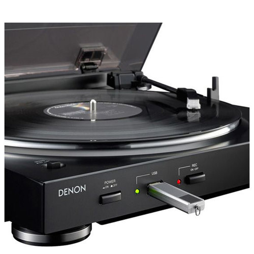 View Larger Image of DP-200USB Fully Automatic Turntable with MP3 Encoder