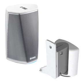 HEOS 1 Wireless Multi-Room Sound System - Series 2 with SoundXtra Wall Mount for Denon HEOS 1