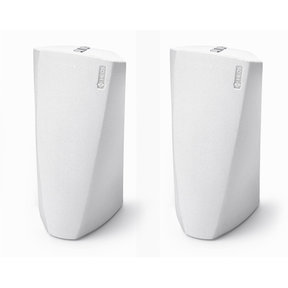 HEOS 3 Dual-Driver Wireless Speaker System - Series 2 Pair (White)