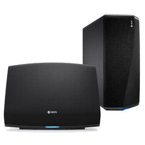 HEOS 5 Four-Driver Wireless Speaker System (Series 2) with HEOS Wireless Subwoofer (Black)