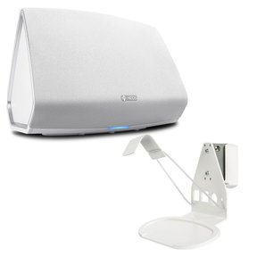 HEOS 5 Wireless Multi-Room Sound System - Series 2 with SoundXtra Wall Mount for Denon HEOS 3