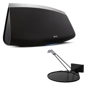 HEOS 7 Wireless Multi-Room Sound System - Series 2 with SoundXtra Wall Mount for Denon HEOS 3