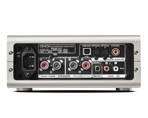 View Larger Image of PMA-50 Compact Digital Integrated Stereo Amplifier