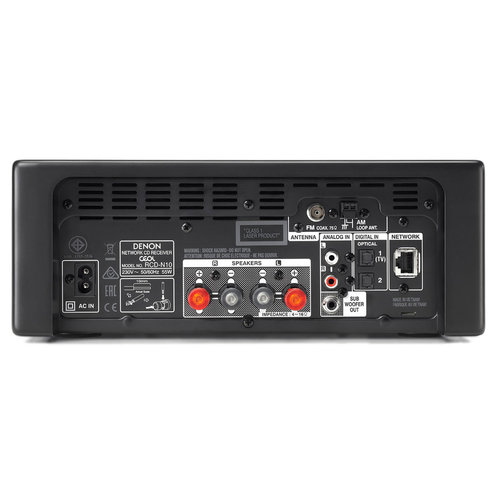 View Larger Image of RCD-N10 Network CD Receiver with HEOS (Black)