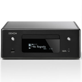 RCD-N10 Network CD Receiver with HEOS (Black)