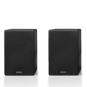 SC-N10 Bookshelf Speakers - Pair (Black)