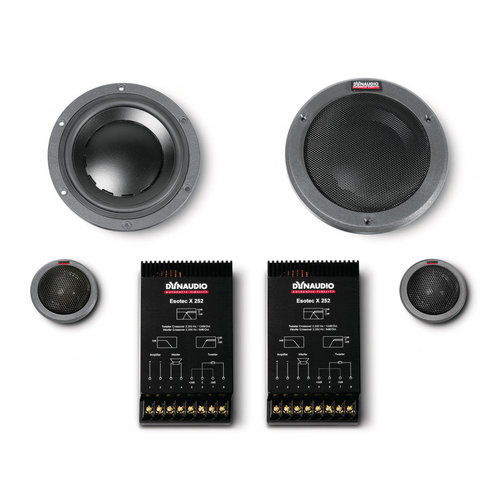 """View Larger Image of System 222 5-3/4"""" Esotec 2-Way Component Speakers"""