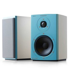 Xeo 2 Wireless Bookshelf Speakers, Limited Edition - Pair (Blue/White)