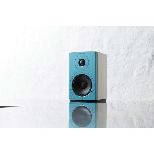 View Larger Image of Xeo 2 Wireless Bookshelf Speakers, Limited Edition - Pair (Blue/White)