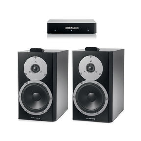 Xeo 4 Wireless Bookshelf Speakers - Pair with Connect Wireless Transmitter
