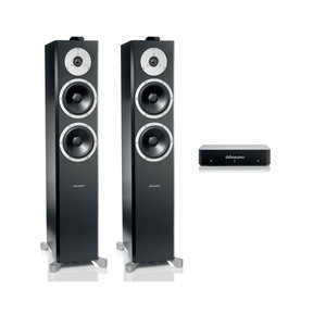 Xeo 6 Wireless Floorstanding Speakers - Pair with Connect Wireless Transmitter