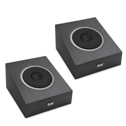 """View Larger Image of Debut A4 4"""" Concentric Aramid-Fiber Dolby Atmos Modules - Pair (Black Brushed Vinyl)"""
