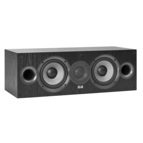 Debut 2.0 C5.2 Aramid-Fiber Center-Channel Speaker (Black Ash Vinyl)