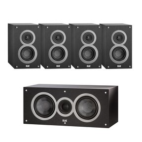 Debut Series 5.0 Channel Bookshelf Home Theater Package