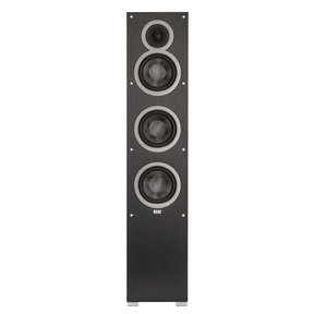 "F6 6.5"" Debut Series Floorstanding Speaker (Black Brushed Vinyl)"