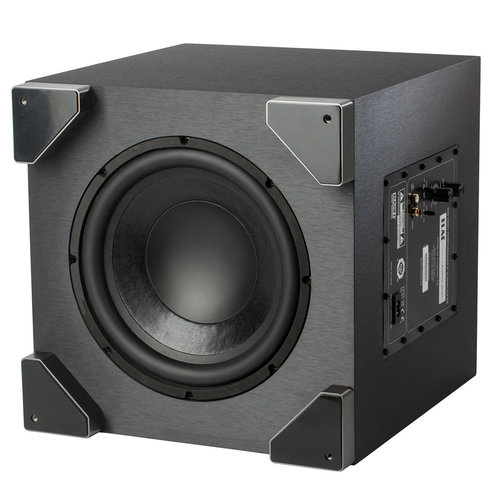 "View Larger Image of S10 10"" Debut Series 200W Powered Subwoofer (Black Brushed Vinyl)"