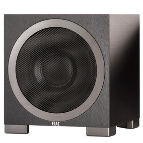 """S10EQ 10"""" Debut Series 400W Powered Subwoofer with Auto Room EQ (Black Brushed Vinyl)"""