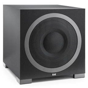 """S12EQ 12"""" Debut Series 1000W Powered Subwoofer with Auto Room EQ (Black Brushed Vinyl)"""