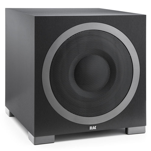 "View Larger Image of S12EQ 12"" Debut Series 1000W Powered Subwoofer with Auto Room EQ (Black Brushed Vinyl)"