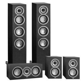 Uni-Fi Series 5.0 Channel Home Theater Loudspeaker Package (Black)