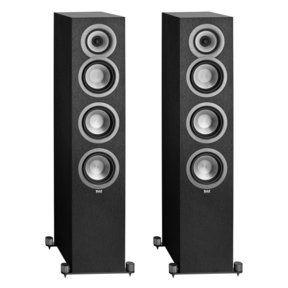 Uni-Fi UF5 Floorstanding Loudspeakers - Pair (Black Brushed Vinyl)