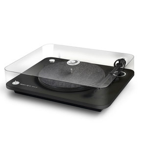 Alpha 100 RIAA 3-Speed Turntable with Built-In Preamp, Bluetooth, and USB (Black)