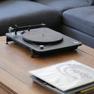 View Larger Image of Alpha 100 RIAA 3-Speed Turntable with Built-In Preamp, Bluetooth, and USB (Black)