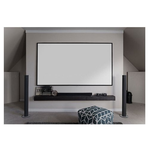 "View Larger Image of Aeon Series 110"" Diagonal Edge-Free Screen with CineWhite Material (Black)"
