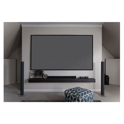"""View Larger Image of Aeon Series 120"""" Edge-Free Projector Screen with CineGrey 3D Material (Black)"""