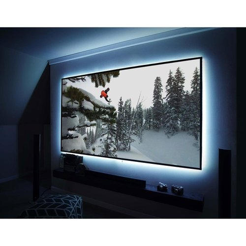 """View Larger Image of Aeon Series 120"""" Edge-Free Screen With CineWhite Material"""