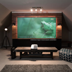 """AR100H-CLR Aeon CLR Series 100"""" Ultra-Short-Throw Projector Screen with StarBright CLR Material"""