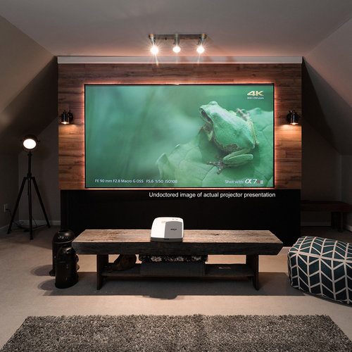 "View Larger Image of AR100H-CLR Aeon CLR Series 100"" Ultra-Short-Throw Projector Screen with StarBright CLR Material"
