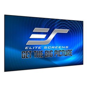 "AR103H-CLR2 103"" Edge Free Fixed Frame Screen for Short Throw Projectors"