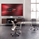 "View Larger Image of AR120H-CLR Aeon CLR Series 120"" Ultra-Short-Throw Projector Screen with StarBright CLR Material"