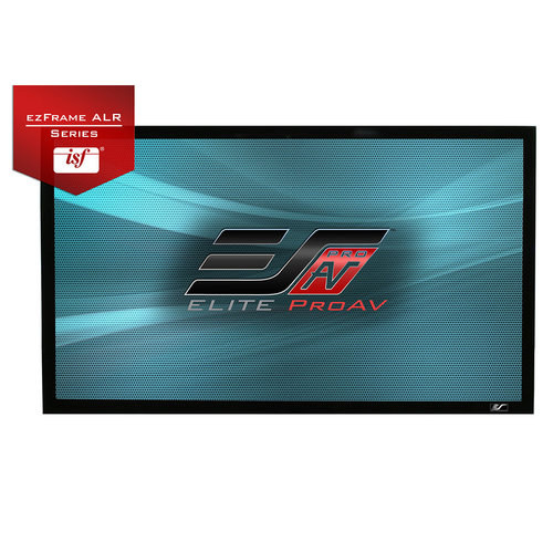 """View Larger Image of ezFrame CineGrey 5D 150"""" Projector Screen"""
