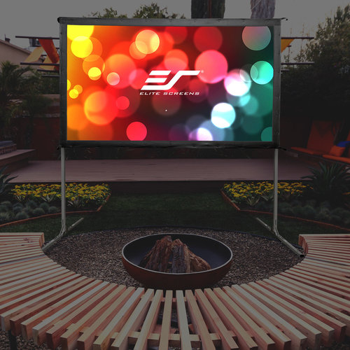 "View Larger Image of OMS100H2 Yard Master 2 100"" CineWhite Outdoor Movie Screen"