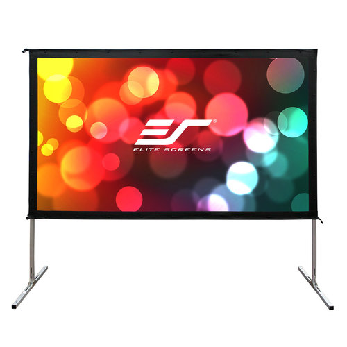 "View Larger Image of OMS135H2-DUAL Yard Master 2 Dual Series WraithVeil 135"" Outdoor Projector Screen"