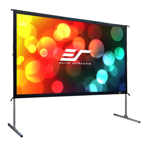 """View Larger Image of OMS135H2 Yard Master 2 135"""" CineWhite Outdoor Movie Screen"""