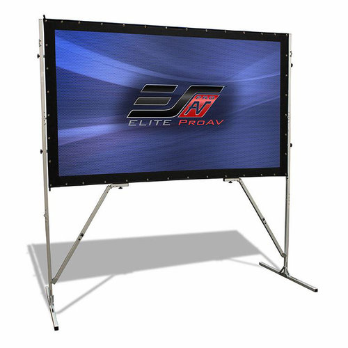 "View Larger Image of OMS180H-PRO 180"" Yard Master Pro Outdoor Projector Screen"