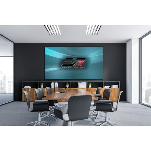 "View Larger Image of PFT100HD5 Pro Frame 100"" Thin Projector Screen with CineGrey 5D Material"