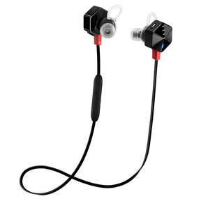 CARAT Bluetooth Wireless Sport In-Ear Headphones with Three-Button Remote and Microphone