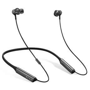 DRIIFTER PRO Wireless In-Ear Neckband Headphones with Active Noise-Cancellation (Gray)