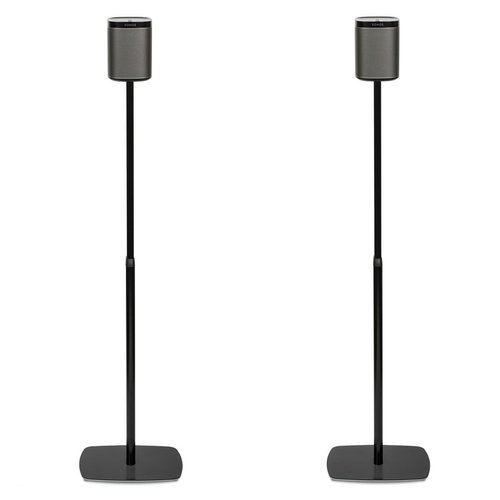 View Larger Image of Adjustable Floorstands for Sonos PLAY:1 - Pair (Black)